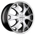 ANTERA 361 9,5x20 6x139,7 ET12 110,1 Racing Black Lip Polished