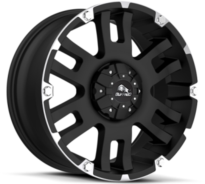 Легковой диск Buffalo BW-004 8,5x17 8x165,1 ET18 125,2 Gloss Black Machined Face